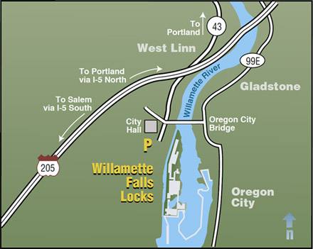 Fall City Oregon Map.Willamette Falls